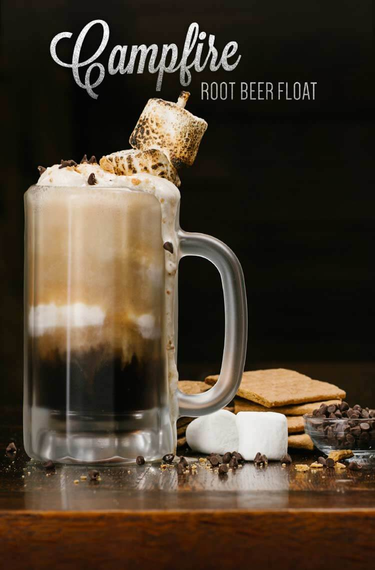 Campfire Root Beer Float Recipe